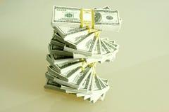 Stapel des Bargeldes Stockbild