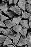 Stapel des Brennholzes Lizenzfreies Stockfoto