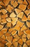 Stapel des Brennholzes Lizenzfreie Stockfotografie