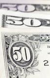 Stapel des Dollars Stockfoto