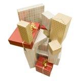 Stapel des Geschenks Stockfotografie