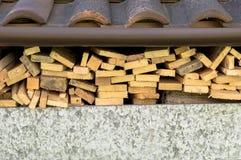 Stapel des Holzes Lizenzfreies Stockfoto