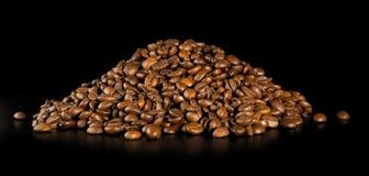Stapel des Kaffees Stockfoto