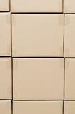 Stapel des Kartons schachtelt Paket Lizenzfreie Stockfotos
