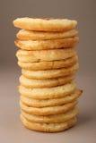Stapel des Pfannkuchens Stockbild