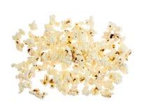 Stapel des Popcorns lokalisiert Lizenzfreie Stockbilder