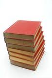 Stapel des roten Buches Lizenzfreie Stockfotografie