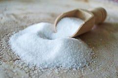 Stapel des Salzes lizenzfreie stockbilder