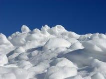 Stapel des Schnees Lizenzfreie Stockfotos
