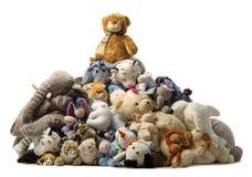 Stapel des Teddybären stockfotos