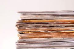 Stapel documenten Stock Afbeeldingen