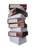 Stapel documenten documenten Stock Fotografie
