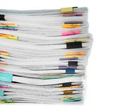 Stapel Dokumente stockfotografie