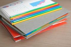 Stapel Dokumente lizenzfreie stockfotos