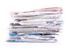 Stapel Dokumente Lizenzfreies Stockbild