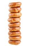 Stapel donuts Stock Afbeeldingen