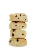 Stapel Engelse scones Stock Afbeeldingen