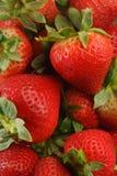 Stapel Erdbeeren Stockbild