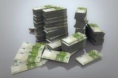 Stapel Euro royalty-vrije illustratie