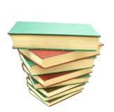 stapel för 03 böcker fotografering för bildbyråer