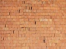 stapel för material för tegelstenbyggnadskonstruktion Fotografering för Bildbyråer