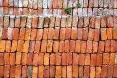 stapel för material för tegelstenbyggnadskonstruktion Royaltyfri Fotografi