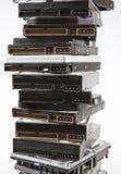 Stapel Festplattenlaufwerk stockfotografie