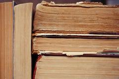 Stapel Gebruikte Oude Boeken Stock Fotografie