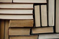 Stapel Gebruikte Oude Boeken Stock Foto