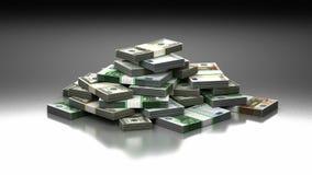 Stapel Geld lizenzfreie abbildung