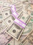 Stapel Geld stockbild