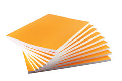 Stapel Gele Boeken Stock Foto's