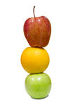 Stapel gesunde Früchte Lizenzfreie Stockfotos