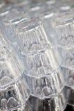 Stapel Glas Lizenzfreie Stockfotografie