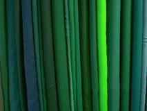 Stapel grünes Gewebe Lizenzfreie Stockfotografie