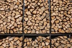 Stapel Holz lizenzfreie stockfotografie