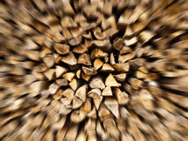 Stapel Holz stockbild