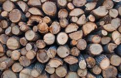 Stapel Holz Lizenzfreie Stockbilder