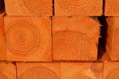Stapel houtstapels Stock Afbeeldingen