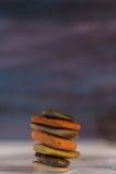 Stapel kiezelstenen Stock Foto