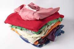 Stapel Kleidung Lizenzfreies Stockfoto