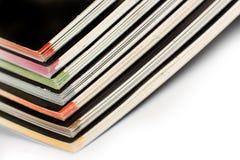 Stapel kleurentijdschriften Royalty-vrije Stock Foto