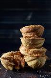 Stapel koekjes Stock Foto's