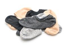 stapel korte sokken stock foto's