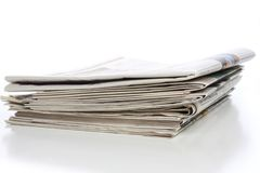 Stapel kranten Royalty-vrije Stock Afbeelding