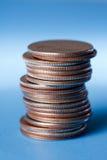 Stapel kwarten Royalty-vrije Stock Afbeelding