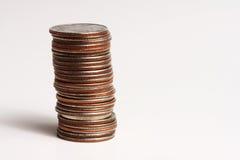 Stapel kwarten Stock Foto's