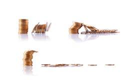 Stapel Münzen Lizenzfreie Stockfotos