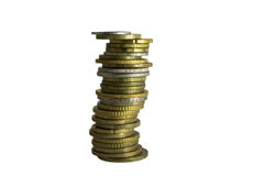 Stapel Münzen Lizenzfreie Stockfotografie
