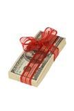 Stapel met de rekeningen van 100 Dollars Royalty-vrije Stock Fotografie